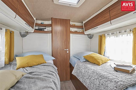Interior view - Avis Car-Away, Comfort A 4-Berth with separate beds