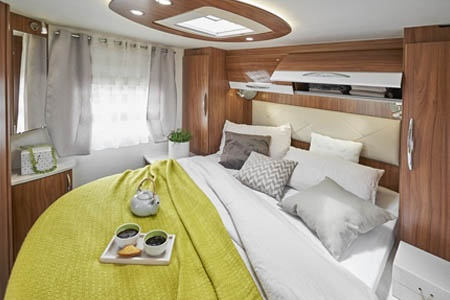 Interior view - Avis Car-Away, Comfort A 4-Berth with double bed