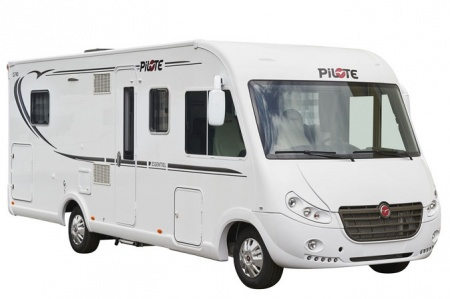 Exterior view - Avis Car-Away, Comfort A 4-Berth with double bed