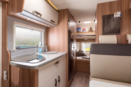 Interior view - Bunk Campers, Grande 6-Berth Motorhome