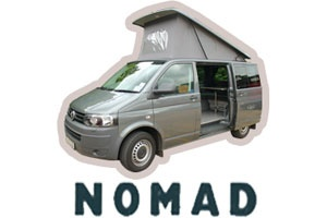 Exterior view - Bunk Campers, Nomad 2-Berth Campervan