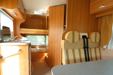 Interior view - Celtic Campervans, Lagan 202