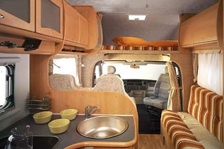 Interior view - Celtic Campervans, Lagan 211