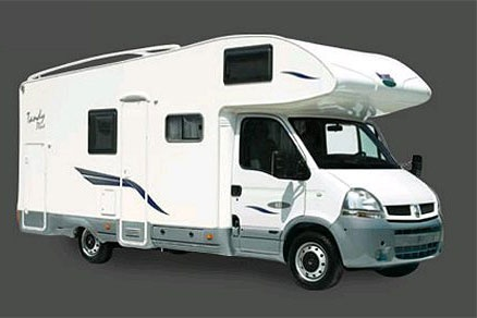 Exterior view - Celtic Campervans, Lagan 211