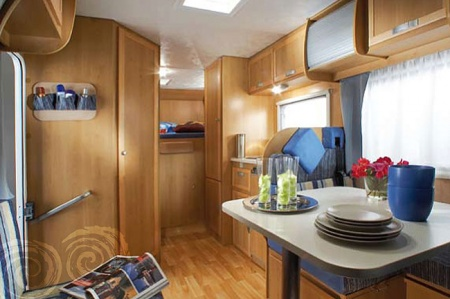 Interior view - Celtic Campervans, Lagan 212