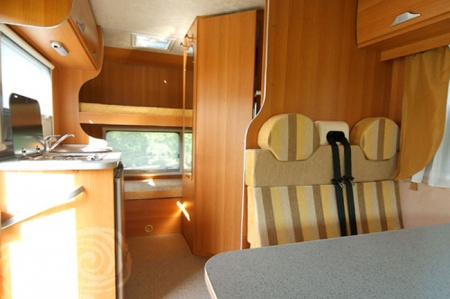 Interior view - Celtic Campervans, Lagan 220