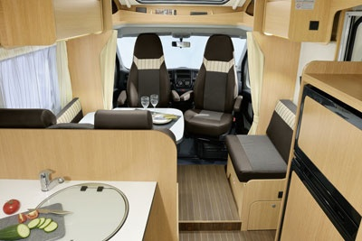 Interior view - McRent, Family Standard