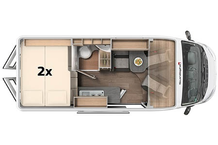 Floor plan - McRent, Urban Luxury