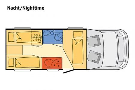 Floor plan - McRent, Comfort Standard