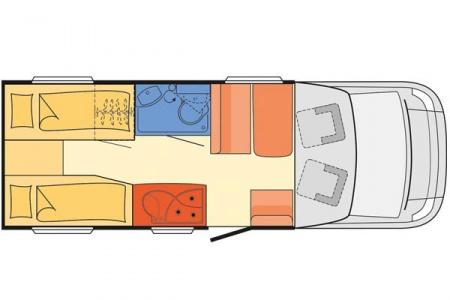 Innenansicht McRent Comfort Standard