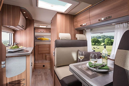 Interior view - Bunk Campers, Aero Plus 4-Berth Motorhome