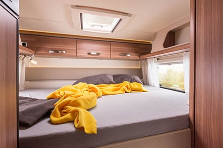 Interior view - Bunk Campers, Aero Plus 2-Berth Motorhome