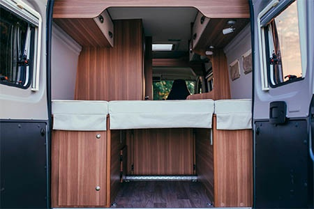 Interior view - Bunk Campers, Aero 2-Berth Campervan