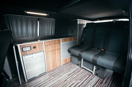 Interior view - Bunk Campers, Ranger 4-Berth Campervan