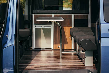 Interior view - Bunk Campers, Roadie 2-Berth Campervan