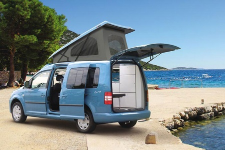 Exterior view - Bunk Campers, Roadie 2-Berth Campervan