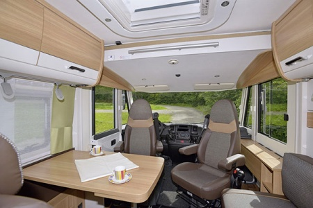 Innenansicht McRent Comfort Luxury