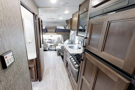 Interior view - CanaDream, Maxi Motorhome MH-A