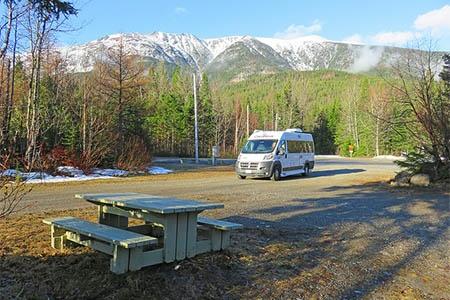 Exterior view - Westcoast Mountain Campers, Deluxe Van Camper DVC