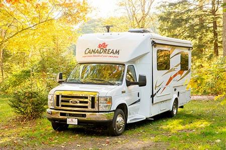 Aussenansicht CanaDream Super Van Camper SVC