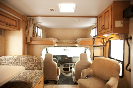Interior view - Westcoast Mountain Campers, Maxi Motorhome MH-A