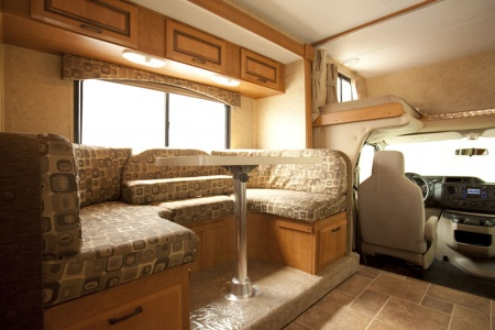 Interior view - Westcoast Mountain Campers, Midi Motorhome MH-B