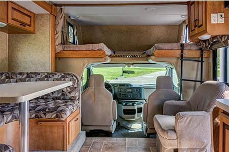 Interior view - CanaDream, Midi Motorhome MH-B