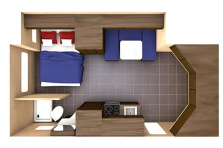 Floor plan - CanaDream, Super Van Camper SVC