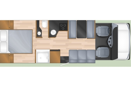 Floor plan - Cruise Canada, C30