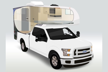 Cruise Canada T17 Truck Camper