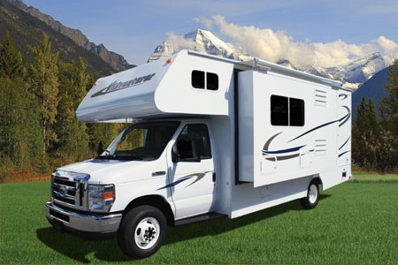 Aussenansicht Four Seasons RV Rentals C-Large
