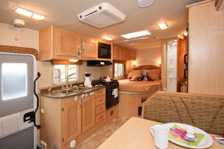 Interior view - Four Seasons RV Rentals, C-Large