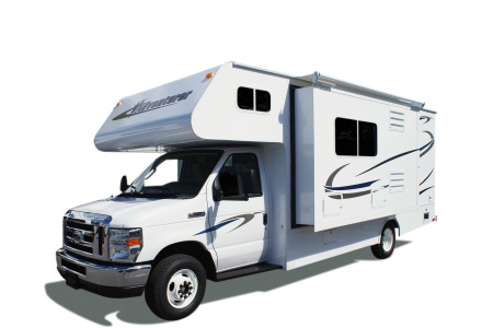 Exterior view - Four Seasons RV Rentals, C-Large