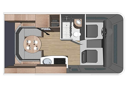 Floor plan - Four Seasons RV Rentals, C-Small
