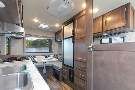 Interior view - Four Seasons RV Rentals, C-Small