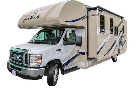Exterior view - Four Seasons RV Rentals, C-XLarge