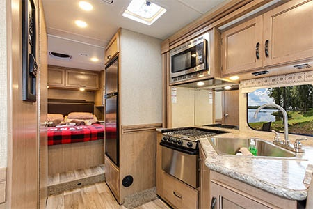 Interior view - Four Seasons RV Rentals, C-XLarge