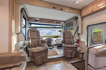 Interior view - Fraserway RV Rentals, A-Luxury