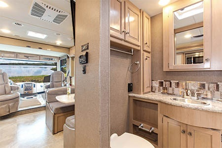 Interior view - Fraserway RV Rentals, A-30 Motorhome