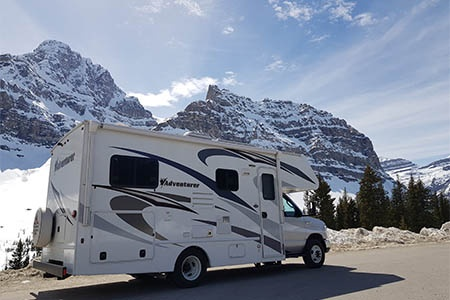 Aussenansicht Fraserway RV Rentals C-Medium