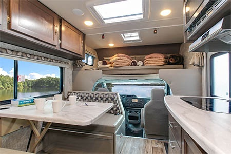 Interior view - Fraserway RV Rentals, C-Medium
