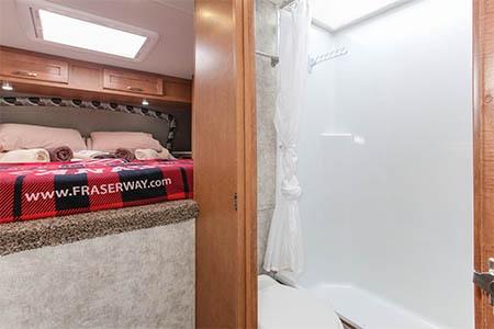 Interior view - Fraserway RV Rentals, Truck & Camper TCB