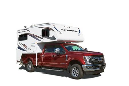 Exterior view - Fraserway RV Rentals, Truck & Camper TCS