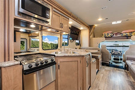 Interior view - Fraserway RV Rentals, C-XLarge