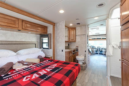 Interior view - Fraserway RV Rentals, A-Luxury W