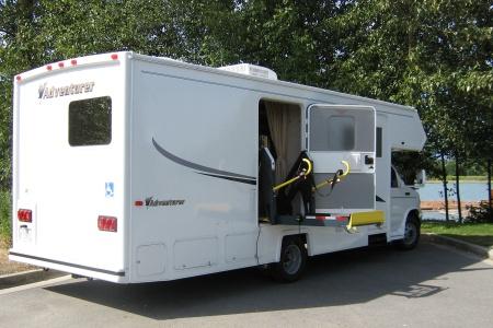 Aussenansicht Fraserway RV Rentals MH27SW