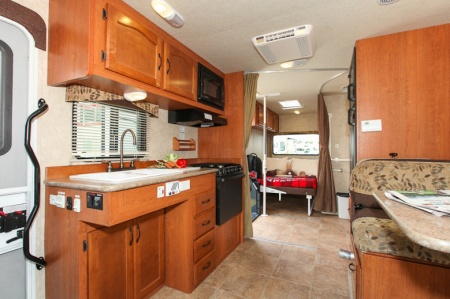 Interior view - Fraserway RV Rentals, MH27SW 2019