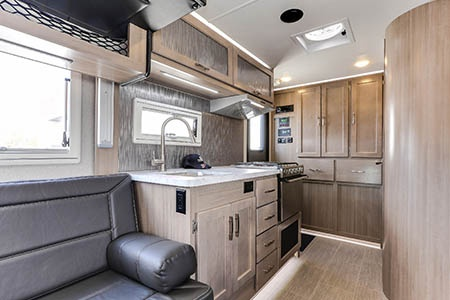Interior view - Fraserway RV Rentals, Overlander