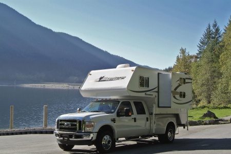 Exterior view - Fraserway RV Rentals, Truck & Camper TCB