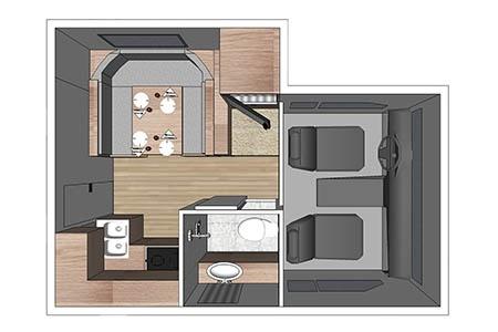 Floor plan - Fraserway RV Rentals, Truck & Camper TCS